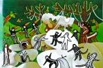 Antes os bichos eram gente, ancestrais dos animais. Muitas histórias narram acontecimentos desse tempo mítico em que o mundo como se vê hoje, estava em formação